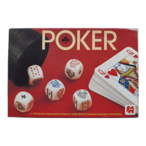 Jumbo Poker Vintage Game 1979 Box