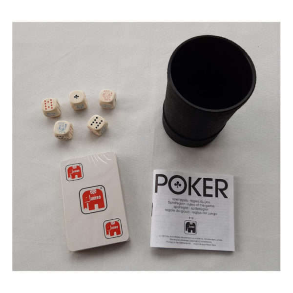 Jumbo Poker Vintage Game 1979 Contents