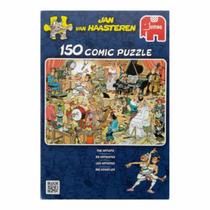 Jumbo The Artists Jan Van Haasteren Comic Puzzle Jigsaw Box