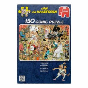 Jumbo The Artists Jan Van Haasteren Comic Puzzle Jigsaw Box