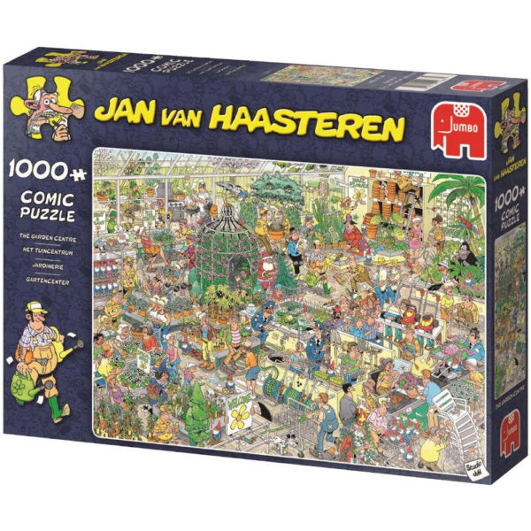 Jumbo The Garden Centre Jan Van Haasteren 19066 Comic Jigsaw
