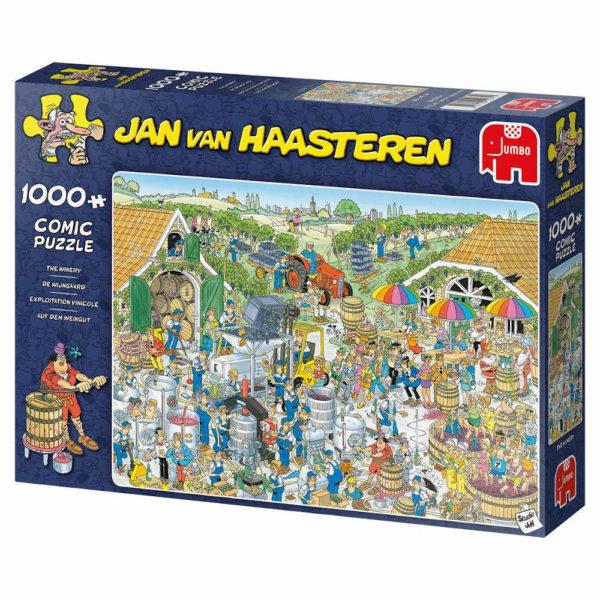 Jumbo The Winery Jan Van Haasteren 19095 Comic Jigsaw