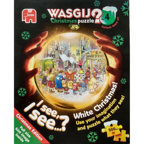 Jumbo Wasgij Christmas 4 White Christmas 17256 Jigsaw Box