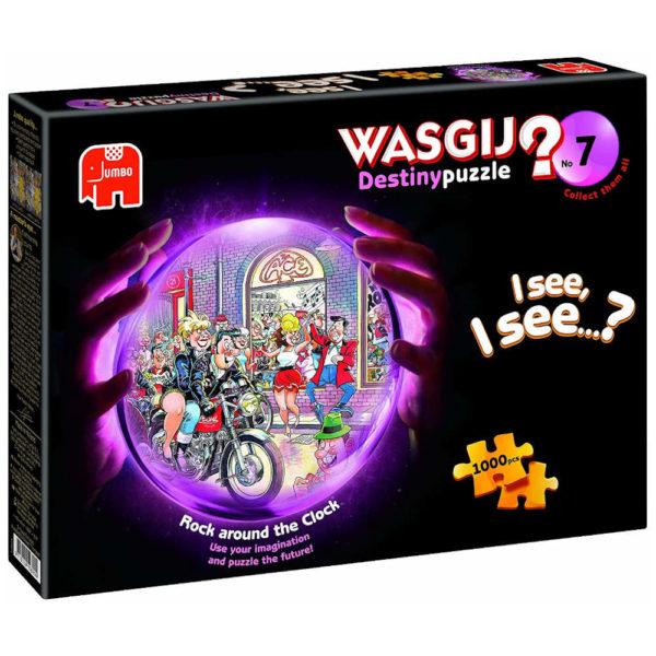 Jumbo Wasgij Destiny 7 Rock Around The Clock Jigsaw Box
