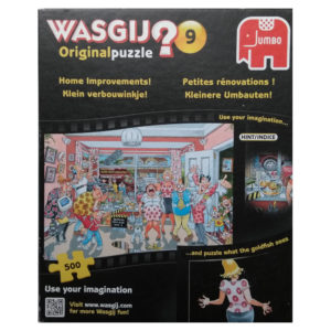 Jumbo Wasgij Original 9 Home Improvements Jigsaw Box TV Makeover Show Scene