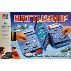 MB Games Battleship Game 1996 Box The Classic Game of Naval Strategy