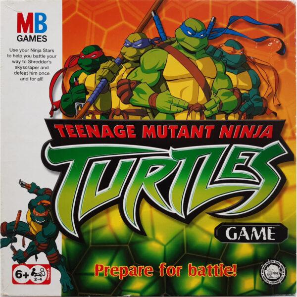 MB Games Teenage Mutant Ninja Turtles Game 2003 Box