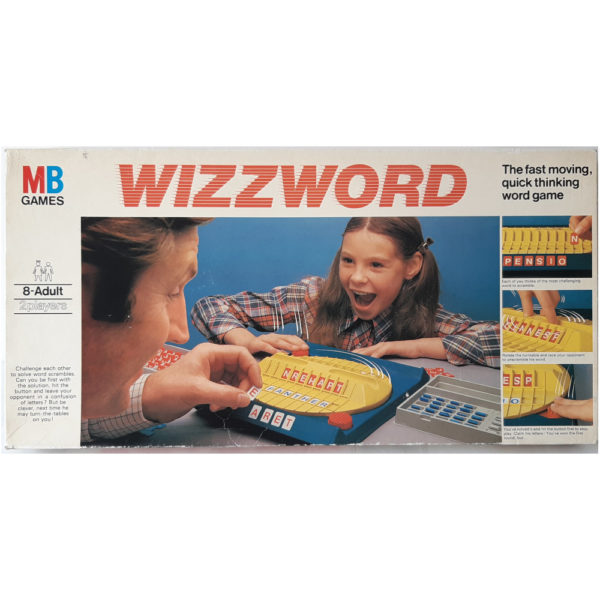 MB Games Wizzword 1977 Vintage Game Box