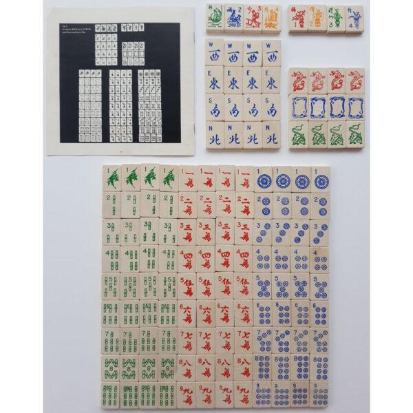 Michael Stanfield Mah Jong Game Contents Tiles