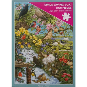Otter House Nature's Finest Birds Montage 1000 pieces Jigsaw Box