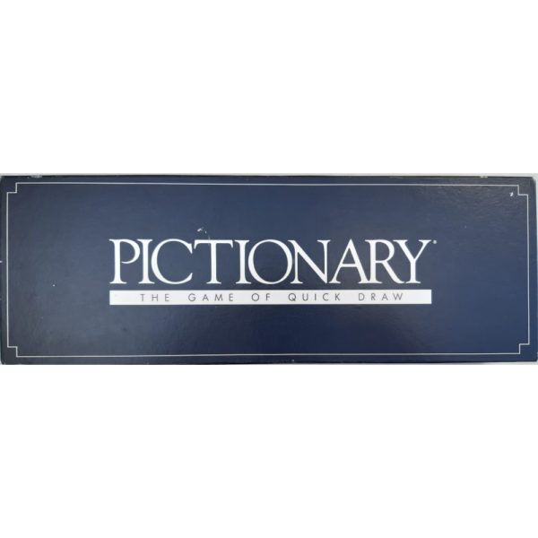 Parker Pictionary Collectable Game 1985 First Edition Box