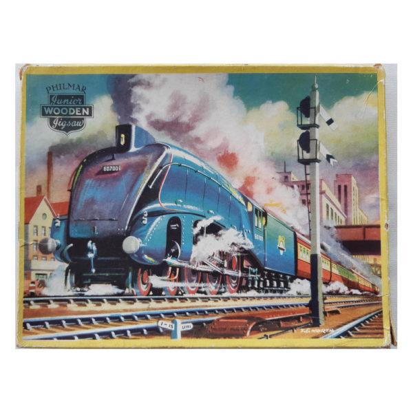 Philmar B R Eastern Region Class W.1 Train Junior Wooden Jigsaw Box