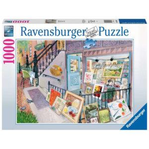Ravensburger Art Gallery New York Scene by Elissa Della Piana 168132 1000 pieces jigsaw box