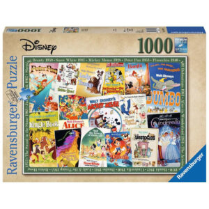 Ravensburger Disney Vintage Posters 198740 jigsaw box