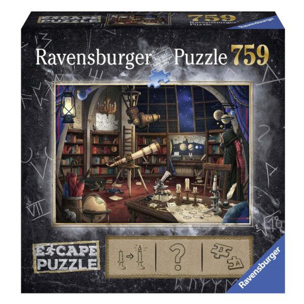 Ravensburger Escape Puzzle The Observatory 199563 759 pieces jigsaw box