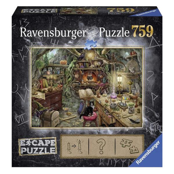 Ravensburger Escape Puzzle The Witches Kitchen 199587 759 pieces jigsaw box