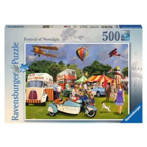 Ravensburger Festival of Nostalgia Geoff Thornley 148103 500 pieces jigsaw box