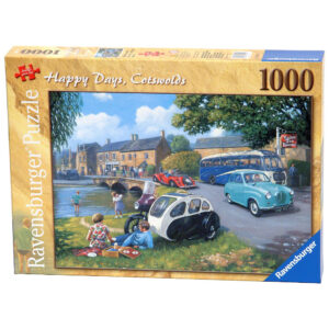 Ravensburger Happy Days Cotswolds Bourton on the Water Scene by Kevin Walsh 158249 Jigsaw Box