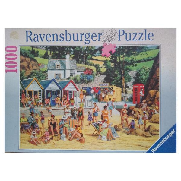 Ravensburger Holiday Memories Alan King 156429 1000 pieces jigsaw box