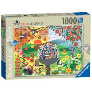Ravensburger I Like Birds Birdie Seasons Stuart Cox 164196 1000 pieces jigsaw box