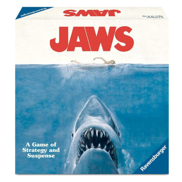 Ravensburger Jaws Game of Strategy and Suspense 262982 box