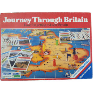 Ravensburger Journey Through Britain Game Box