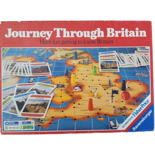 Ravensburger Journey Through Britain Game Box