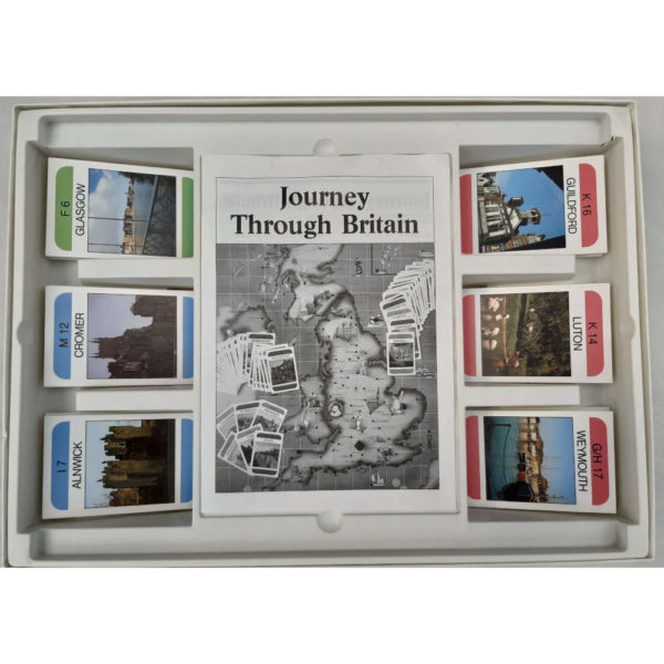 Ravensburger Journey Through Britain Game Contents