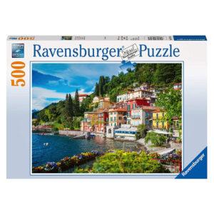 Ravensburger Lake Como Italy 147564 500 pieces jigsaw photographic puzzle box