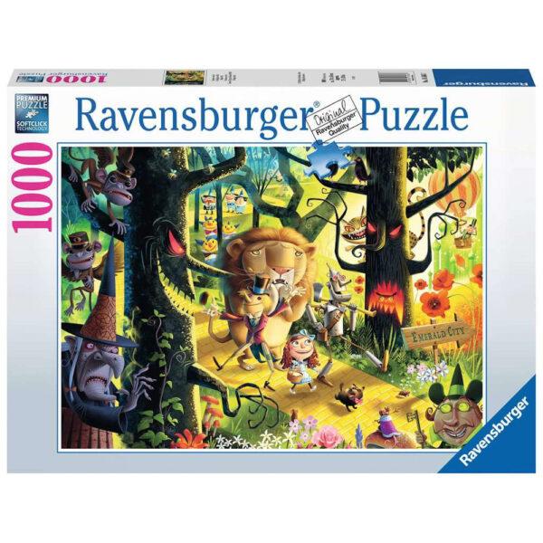 Ravensburger Lions & Tigers & Bears OH MY Wizard of Oz by Dean MacAdam 165667 jigsaw box