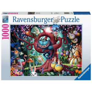 Ravensburger Most Everyone is Mad Alice in Wonderland by Dean MacAdam 164561 1000 pieces jigsaw box