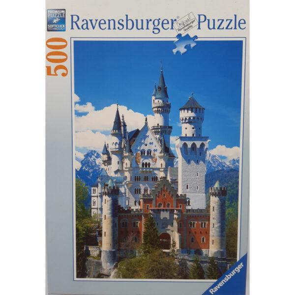 Ravensburger Neuschwanstein Castle 145607 Jigsaw Box 500 pieces