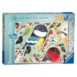 Ravensburger Our British Birds Montage by Matt Sewell 14697 500 pieces jigsaw box