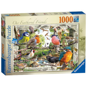 Ravensburger Our Feathered Friends David Penfound 198382 1000 pieces jigsaw box