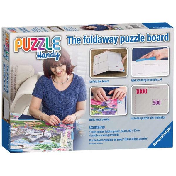 Ravensburger Puzzle Handy Foldaway Puzzle Board 179718 box
