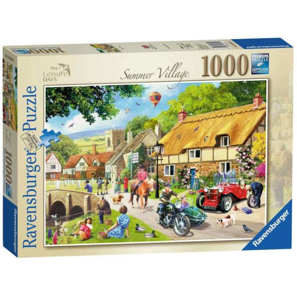 Ravensburger Summer Village No 1 Leisure Days Jigsaw Box