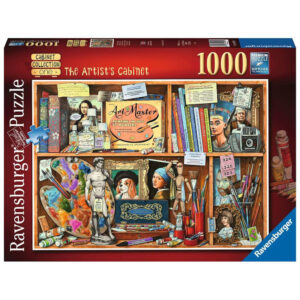 Ravensburger The Artist's Cabinet Geoff Tristram Cabinet Collection One149971 1000 pieces jigsaw box