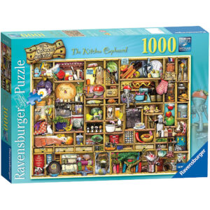 Ravensburger The Kitchen Cupboard No 1 Curious Cupboards 191079 Jigsaw Box Image by Colin Thompson