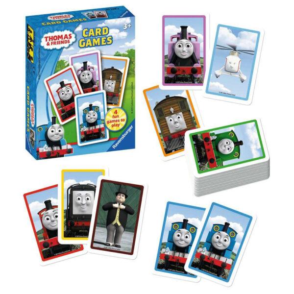 Ravensburger Thomas & Friends Card Games Thomas the Tank Engine Playing Cards 203383 3+ box cards