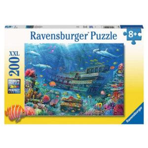 Ravensburger Underwater Discovery Sunken Treasure Ship Image by Art of Eduard 129447 200 XXL 8+ jigsaw box