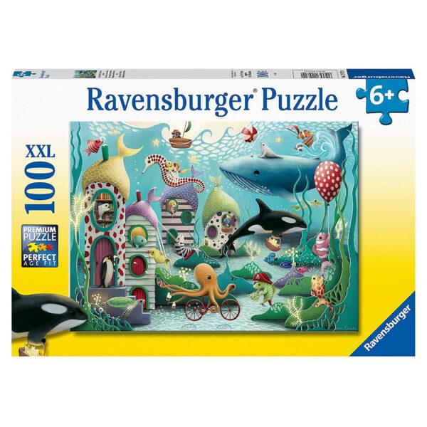 Ravensburger Underwater Wonders by Demelsa Haughton 129720 100XXL 6+ jigsaw box