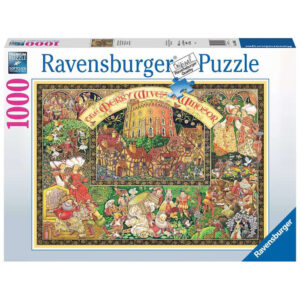 Ravensburger Windsor Wives by Peter Church featuring Merry Wives of Windsor by William Shakespeare 168095 1000 pieces jigsaw box
