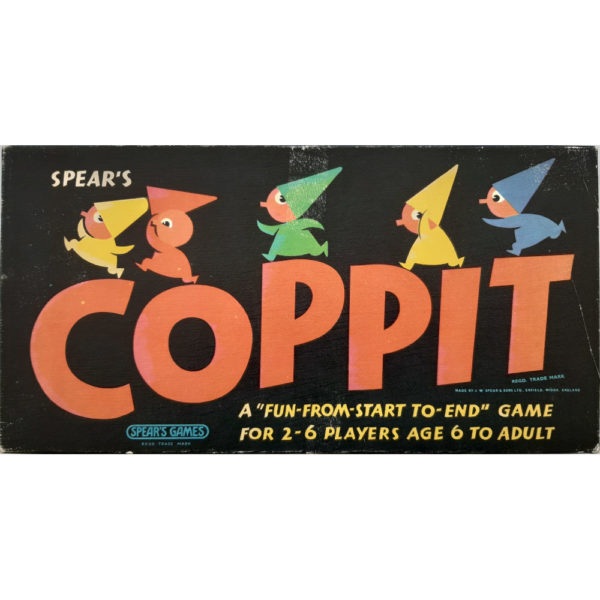 Spears Games Coppit Game 1964 Box