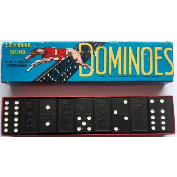 Spears Games Greyhound Dominoes Contents