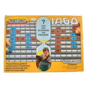 Spears Games Iago 1984 Vintage Game Box