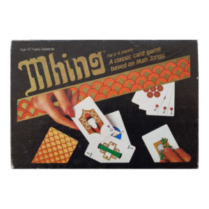 Emporium Spears Games Mhing Card Game 1984 Box