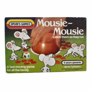 Spears Games Mousie Mousie 1983 Box Catch them as they Run