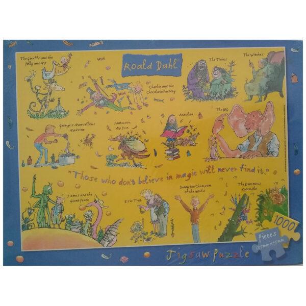 Susan Prescot Games Roald Dahl Illustrations by Quentin Blake 1000 pieces Jigsaw Box