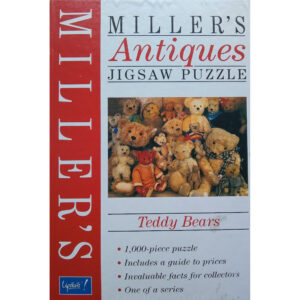 Upstarts Millers Antiques Teddy Bears Jigsaw Box