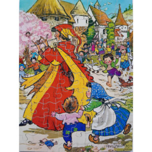 Victory The Pied Piper Fairy Tales Series 7220 Wooden Jigsaw Complete